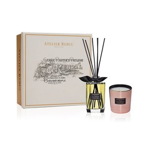 Atelier Rebul Flower Fusion Fragrance Sticks and Scented Candle Giftset