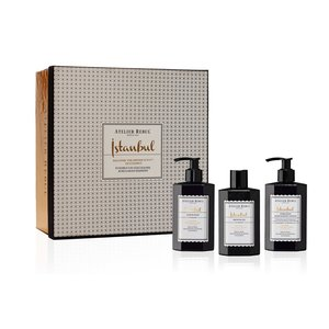 Atelier Rebul Istanbul Liquid Soap, Shower Gel and Hand & Body Lotion Giftset